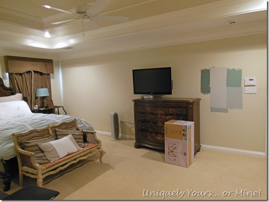 choosing paint colors for the master bedroom