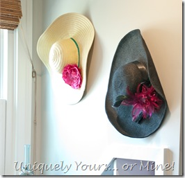 hat wall decor