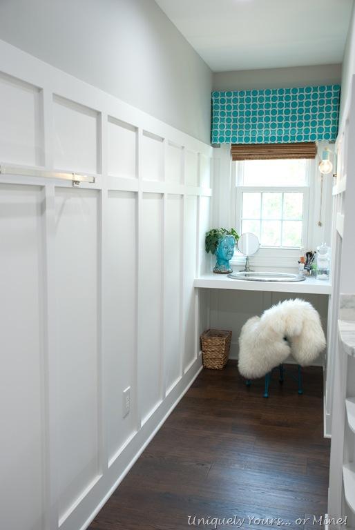 Built In Dormer Window Vanity Space