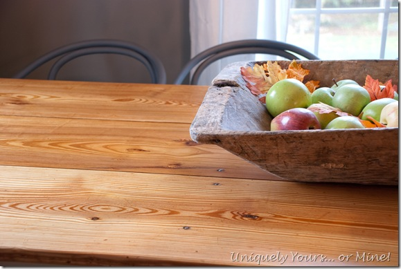 Refinishing table and pine tabletop