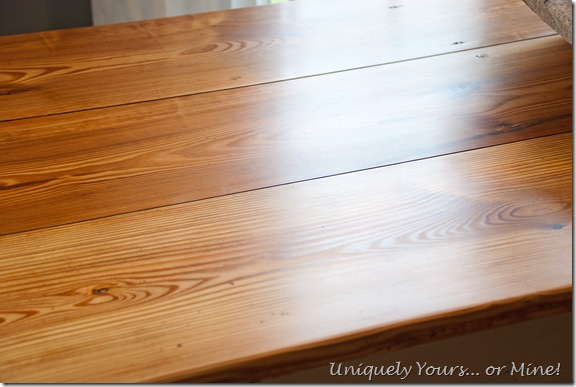 Lightening up the farmhouse table