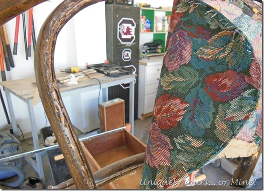 updating / refinishing Thonet upholstered dining chairs