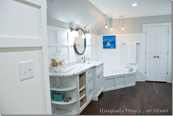 Master Bathroom Final Reveal Uniquely Yours Mine