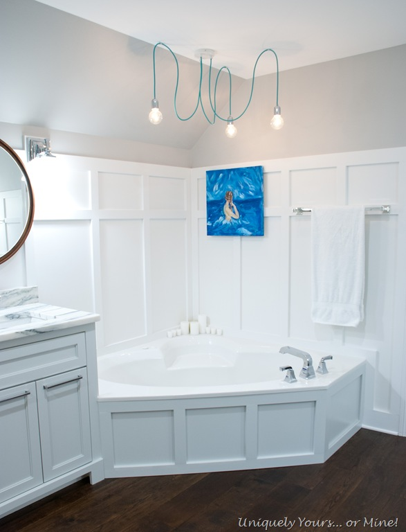 Master Bathroom Final Reveal – Uniquely Yours… or Mine!
