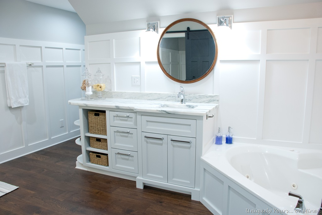 Master Bathroom Final Reveal Uniquely Yours Or Mine