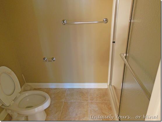 Original bathroom shower toilet combination