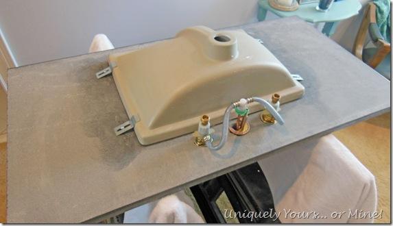 installing undermount sink on granite