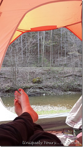 Camping in the Red River Gorge