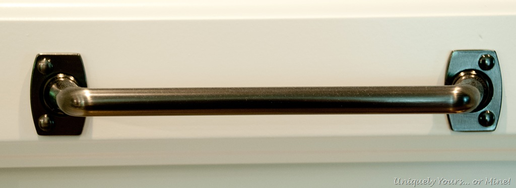 Merveilleux Industrial Style Graphite Cabinet Pulls