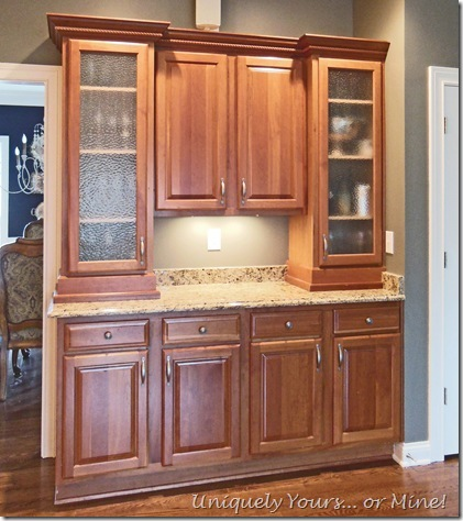 Before butler's pantry cabinets