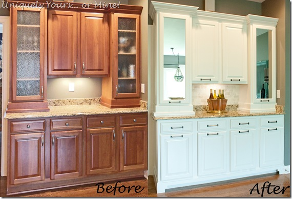 Butlers pantry before and after
