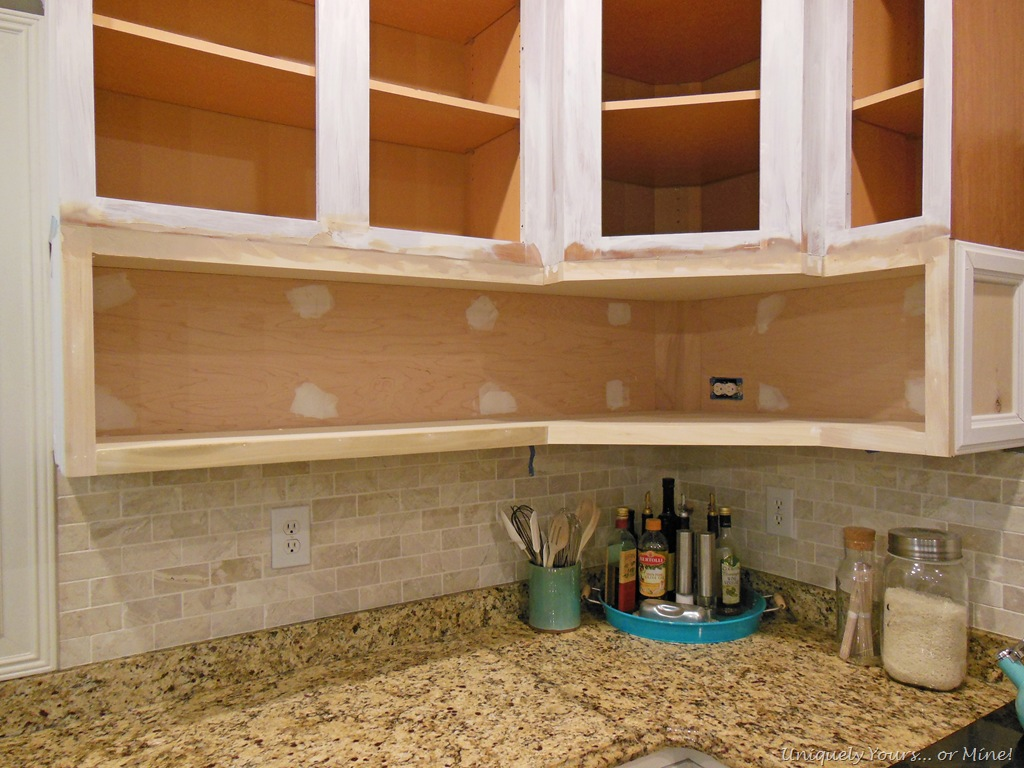 Lovely Raising Kitchen Cabinets And Adding Open Cabinets Below