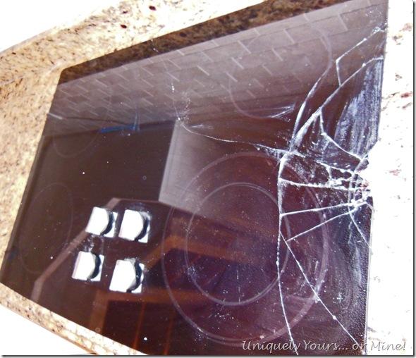 broken stovetop