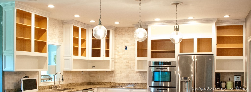 Raising kitchen cabinets | Uniquely Yours... or Mine!