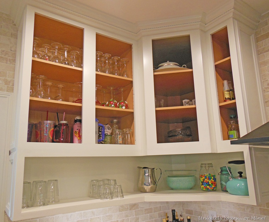 raising kitchen cabinets | uniquely yours or mine!