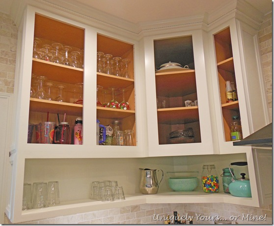 DIY raised kitchen cabinets