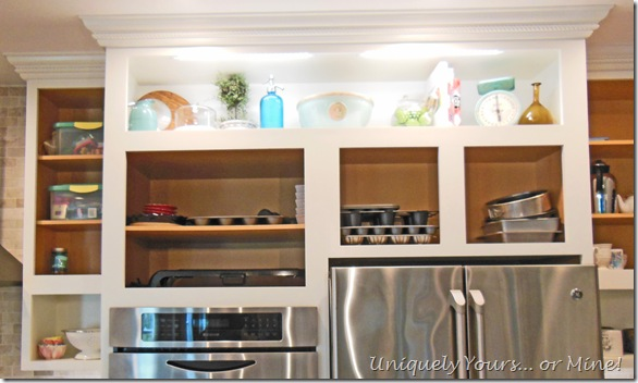DIY raised kitchen cabinets
