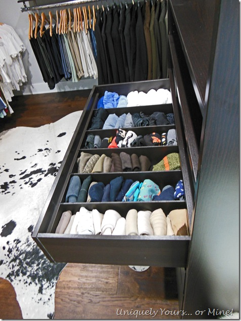 Uniquely Yours or Mine!: Easy DIY custom Ikea Pax drawer insert