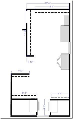 Dressing room plans