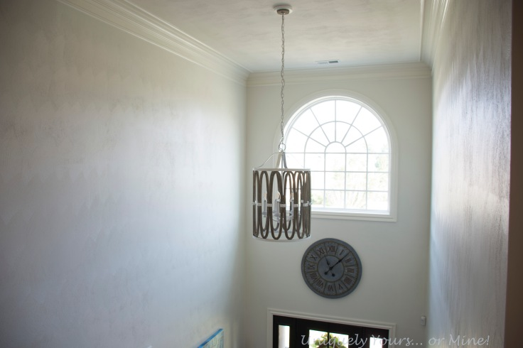 Two story foyer lighting, coastal, Shades of Light
