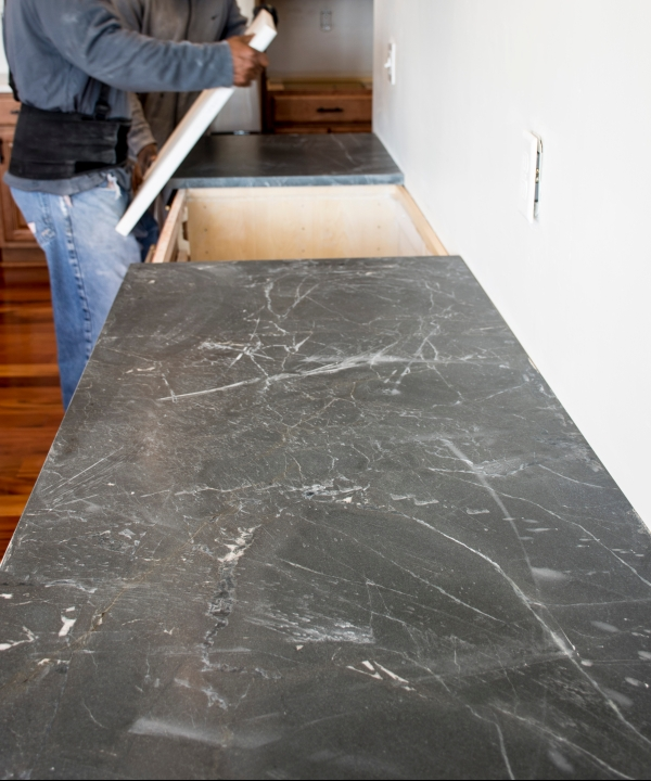 leathered Negresco granite, honed Negresco Granite