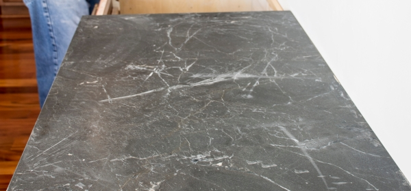 leathered Negresco granite, honed Negresco Granite